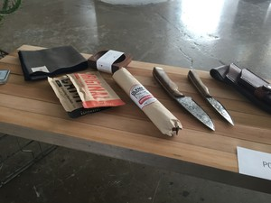 A smattering of Portland-made goods Kelley Roy took to WantedDesign Brooklyn this month.