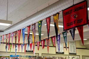 All Corbett students are encouraged to apply to college as part of a rigorous academic program.