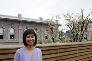 Stacey Tran's writing can be found in Brooklyn Rail, diaCRITICS, and The Volta.