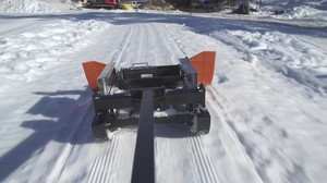 The Methow Trails is one of the first places in the country to allow fat bike riding on their Nordic trails.They use special grooming equipment to create single track trails.