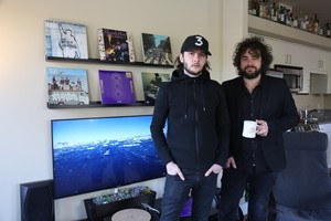 David Staley and Gabriel Wilson are the duo behind RMA, an independent Vancouver-based record label that's trying to release Prince's latest album.