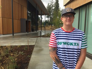 Freshman Logan Wolfe chose OSU-Cascades for the nearby recreational and outdoor opportunities.
