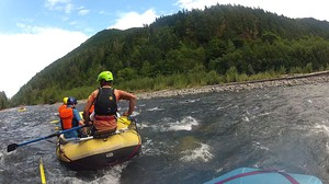 Now that the dams are gone, rafters are enjoying the changing Elwha River.