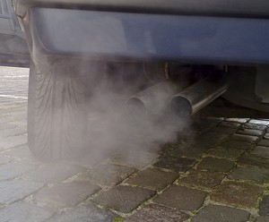Tailpipe emissions.