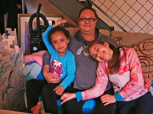 Casey Bannister lives with her two kids in outer East Portland.