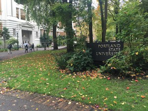 Portland State University in fall 2016