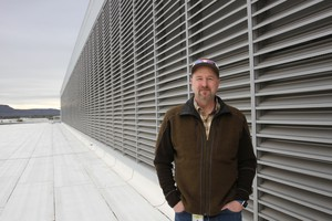 """Facebook site manager Todd Flack says that Prineville and Crook County have been good partners for the company. """"I'm proud of the work that they've been doing to reimagine their economy,"""" he said."""