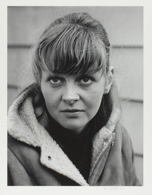 Cherie Hiser's life spanned several iconic creative scenes in the west. In addition to her own photography she also sat for portraits like this one, from the collection of Portland Art Museum.