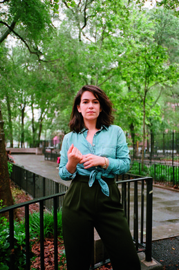 """I decided to drive to LA by myself to find time to think about stuff. But before I left I pitched this book. Because there was no way I could go on vacation without making it a project."" Abbi Jacobson's newly-published road trip memoir is ""I Might Regret This""."