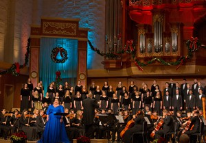 PLU Christmas featuring Angela Meade with the Choir of the West, the University Chorale and the University Orchestra at PLU on Friday, Dec. 11, 2015.