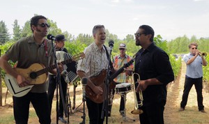 Calexico at McMenamins Edgefield during an opbmusic session