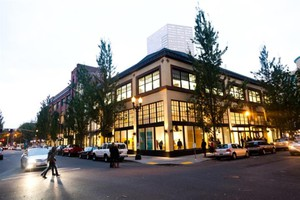 The Oregon Jewish Museum and Center for Holocaust Education's new home on NW Davis Street and 8th Avenue on the Northwest Park Blocks.