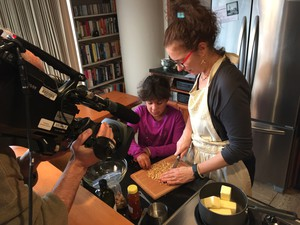 Diana Abu Jaber makes baklava—a dessert that's played a central role in her life—with her daughter for the first time.