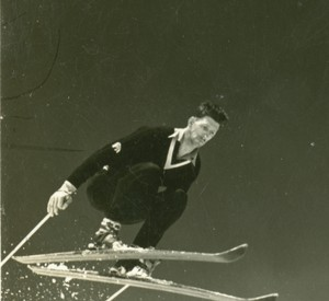 Hjalmar Hvam was a champion ski jumper as well as an inventor.