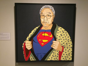 """""""American In Disguise"""", 2012, Roger Shimomura"""