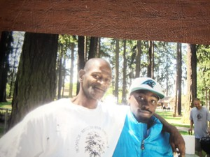 Wayne Thompson (left) grew up in Northeast Portland and attended Grant High School.