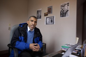 """Eric Richardson is the president of the Eugene chapter of the NAACP. """"Those reporting mechanisms have helped,"""" he said. """"It's a way for us to see what the problems are."""""""