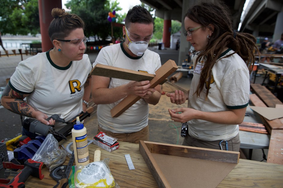 Portland Carpenters Showcase Their Skills On Labor Day Arts Life