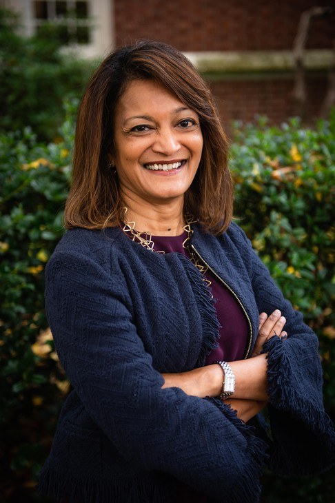 Susheela Jayapal on Oct. 23, 2019, in Portland, Ore. Jayapal won election to the Multnomah County Commission in 2018.