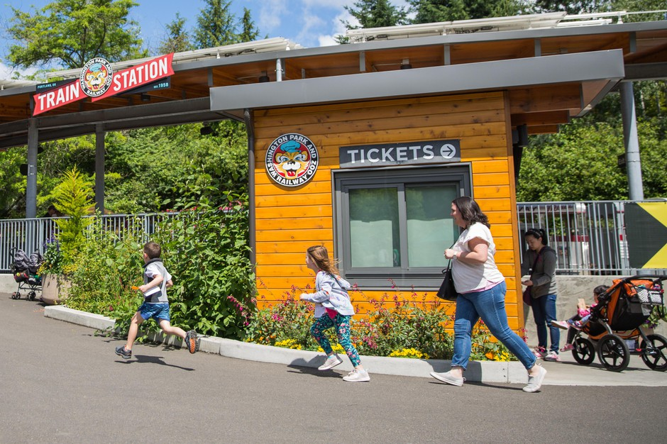 Washington Park and Zoo Railway is a star attraction for adults and children alike.