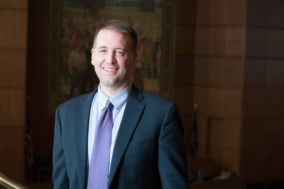 Tobias Read is Oregon's state treasurer. He is running for reelection with help of big money from out-of-state law firms.