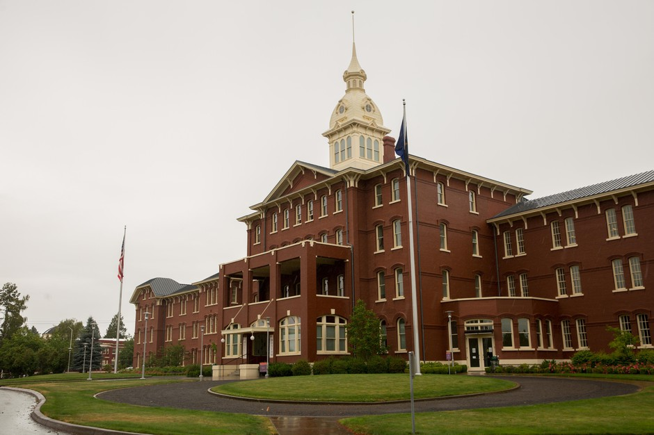 The Oregon State Hospital in Salem, Ore., is pictured on Thursday, June 27, 2019.