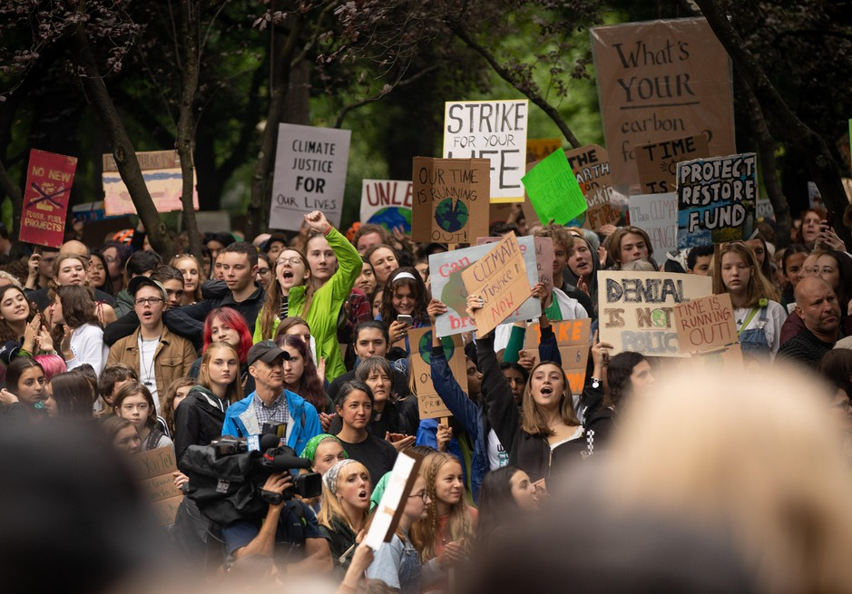 Portland Public Schools estimated some 6,000 people participated in the international climate strike in Portland.