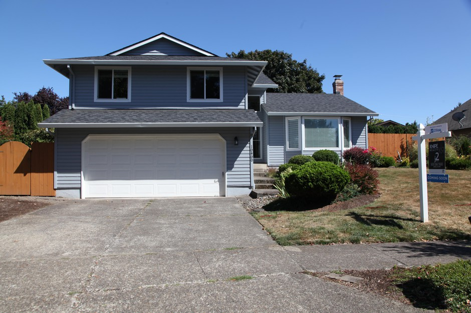 """This three bedroom Beaverton, Ore., home is one of the first in the Portland-area that Zillow bought directly as part of """"Zillow Offers."""""""