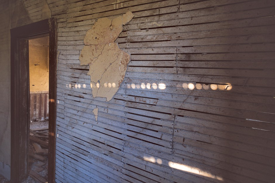 Capturing light inside the Nelson House, Danielle Denham sees beauty in decay.