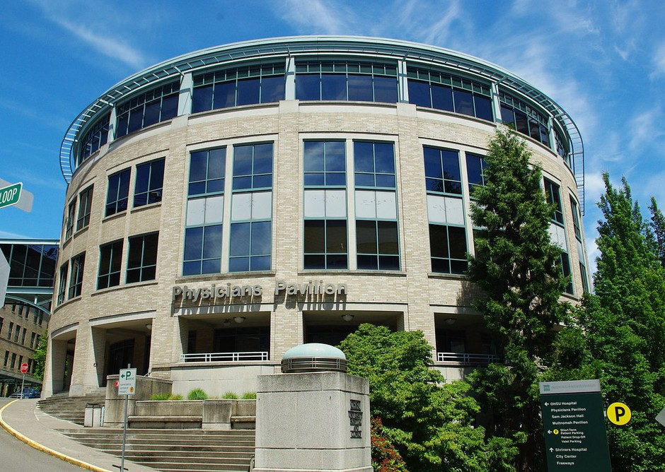 Physicians Pavilion (file photo) at OHSU.
