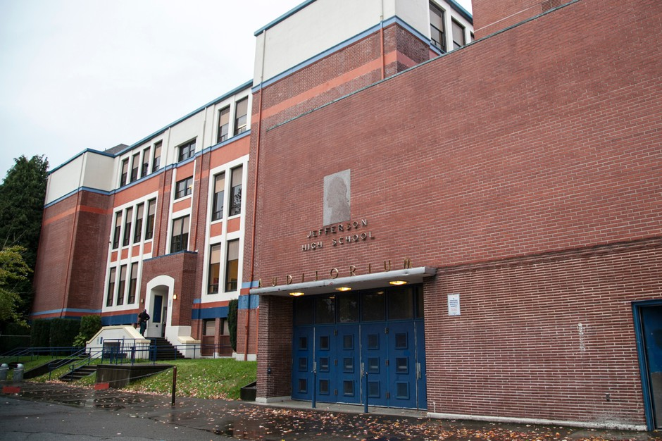 Jefferson High School in north Portland.