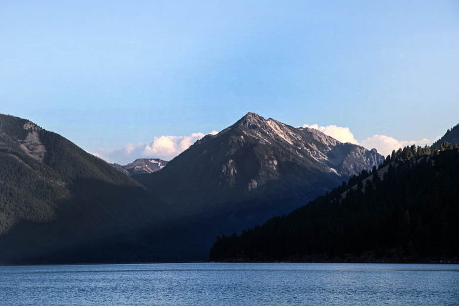 Wallowa Lake south of Joseph, Ore., is pictured July 7, 2015.