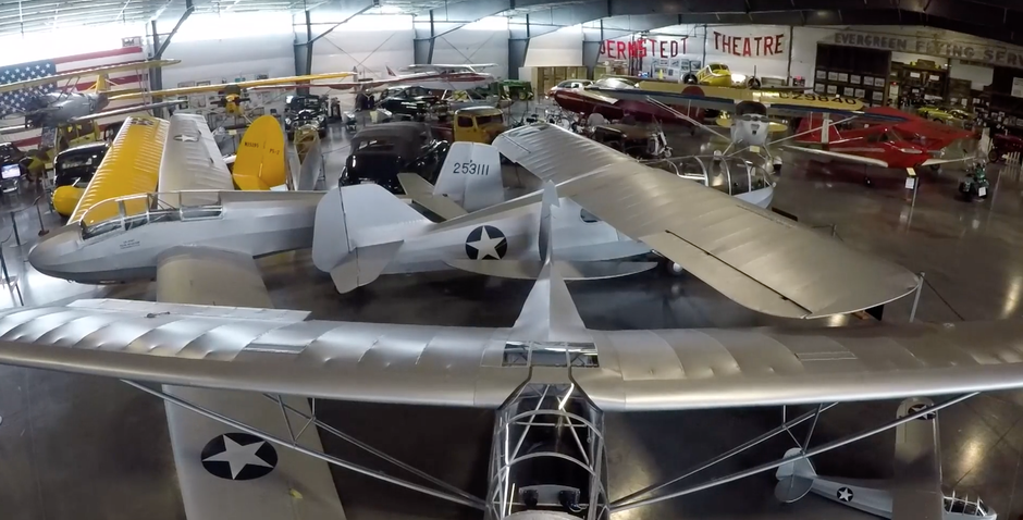 WAAAM houses hundreds of historic planes and automobiles inside 3.5 acres of hangars.