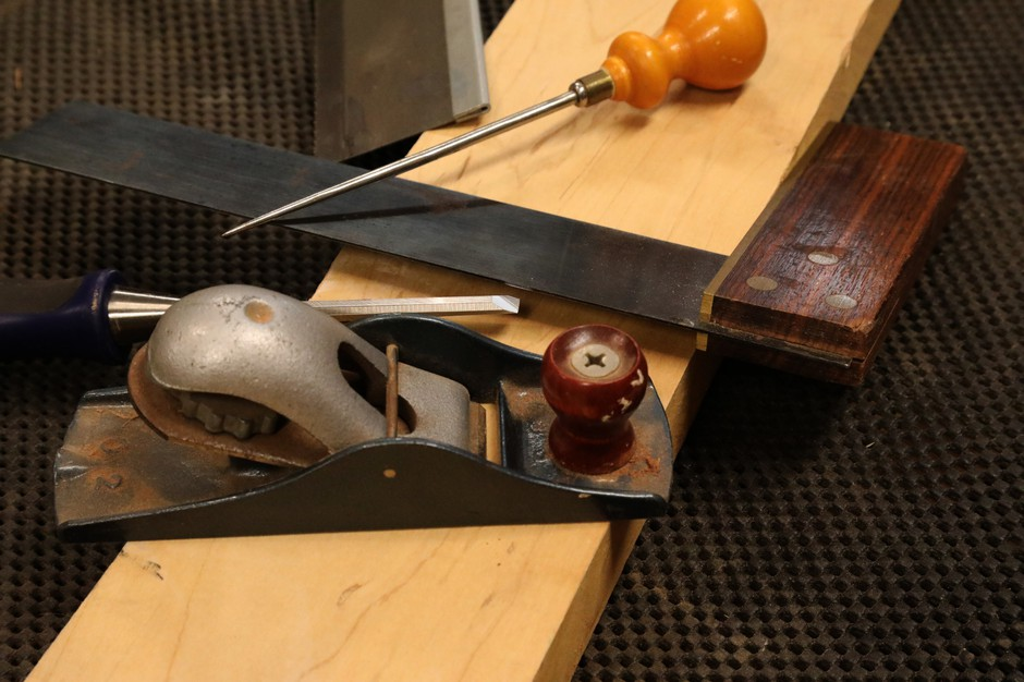 Gary Rogowski has spent years becoming a master woodworker. Working with his hands has given him clarity and purpose, he says.