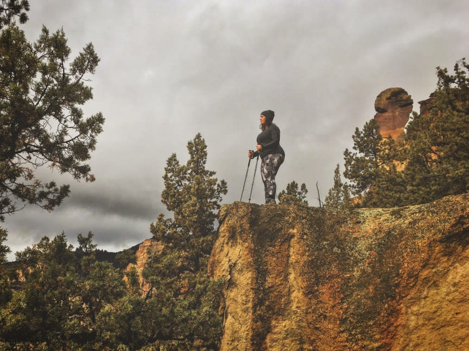 Jenny Bruso started Unlikely Hikers to show the opposite of what is typically found in outdoors media.