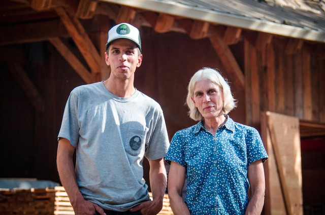 Ben and Sara Deumling manage Zena Forest northwest of Salem. They are among small family forest owners in Oregon.