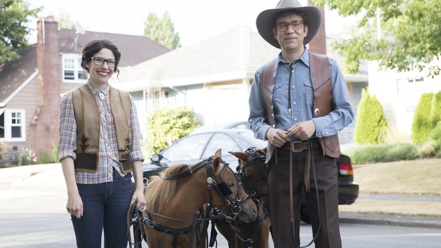 "Carrie Brownstein and Fred Armisen star in the eighth and final season of ""Portlandia."""