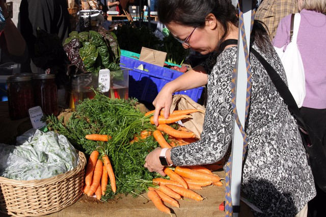 The temperature swing in Oregon's high desert climate isn't all bad news for produce —the cold snaps can help generate extra sweet root vegetables, like carrots.
