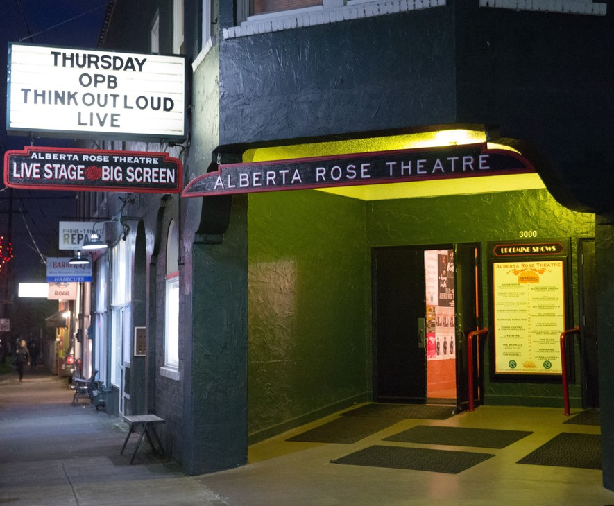 """Think Out Loud"" celebrated 10 years of thought-provoking conversations on the OPB airwaves with a special live show at the Alberta Rose Theatre in NE Portland Thursday, Feb. 8, 2017."